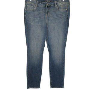 Torrid Stretch Denim Skinny Straight Jeans Plus Si